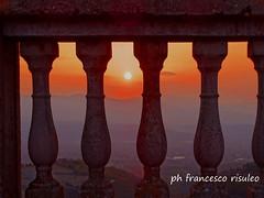 tramonto sulla catena costiera (francescorisuleo) Tags: sunset italy sun colors italia tramonto sole colori calabria cosenza bisignano