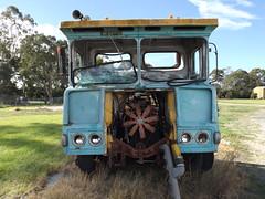 Atkinson, Dyers Transport Yard, Sale, Vic, Aust, 2015 (MurrayJoe) Tags: truck sale vic aust atkinson 2015 dyerstransport saledepot