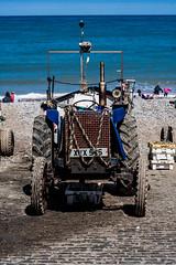 Tractor (glennk2611) Tags: sun abstract beach birds children pier seaside sand waves norfolk leafs cromer