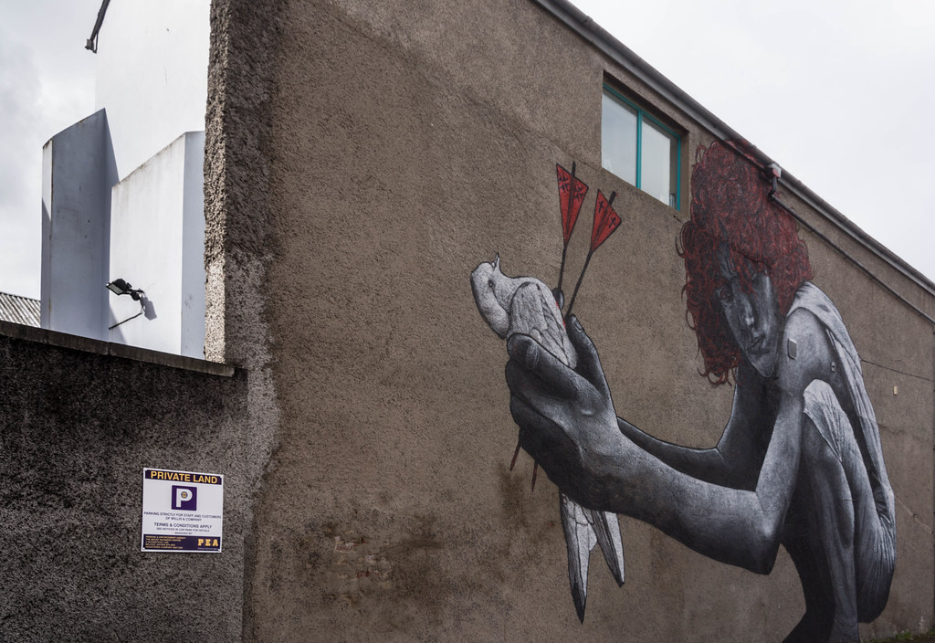 Street Art In Belfast [May 2015] REF-104666