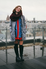 4074 (Toms_V) Tags: people portraits rooftops sister latvia fujifilm riga 18mm xe1 vsco