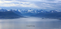 Molde, Norway (Joseph W Ling) Tags: cloud mountain snow alps ice nature water norway river landscape twilight scenery quiet peace view outdoor peaceful tranquility peak panoramic ridge fjord hazy mystic molde obscure romsdal