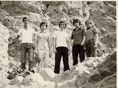 hiking in iran (reza fakharpour) Tags: old blackandwhite monochrome vintage freedom iran hiking iranian iranians  iranbeforetherevolution
