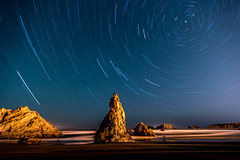 JulyBandon2016 (Ranbo (Randy Baumhover)) Tags: beach oregon stars pacificocean oregoncoast bandon startrails