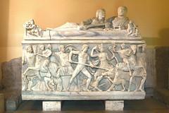 ROMA - MUSEOS CAPITOLINOS - SARCOFAGO (2) (mflinera) Tags: roma italia escultura sarcofago museos capitolinos