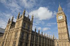 Palace of Westminster and Big Ben (Digital Biology) Tags: westminster palace bigben clock london sky