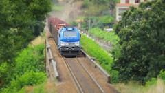 Comboio Internacional 48844 ( Comsa Rail 335-001 ) - Durres - Linha Minho (ruicmsilva) Tags: ponte durres comsa rail 335001 tuy celbi madeira linha minho vossloh