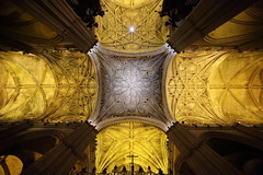 Seville Cathedral (HDH.Lucas) Tags: spain cathedral seville ceiling lucas espana andalusia