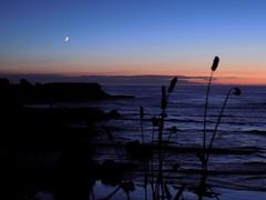 DSCN3679 (aloia del norte) Tags: anochecer mar cantabrico asturies