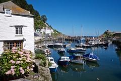 DSCF9104 (douglaswestcott) Tags: summer england english coast seaside cornwall village harbour coastal quaint polperro