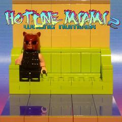 Chillin' (Evgenion) Tags: 2 game art computer comics blessings book fan video model lego fig miami mark wrong number figure minifig 50 vignette hotline minifigure moc sidan