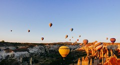 Cappadocia (PhotoSebastian) Tags: turqua turkey goreme travel flight volar globo hot air balloon landscape view