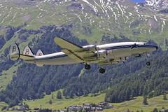 EngadinAirport SMV/LSZS: HB-RSC Lockheed Constellation Starliner (C69/C-121) (Roland C.) Tags: lockheed constellation c121 smv c69 engadinairport hbrsc lszs