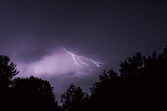 Light 7 (wanderingschnaars) Tags: adirondacks adk sony alpha a6000 lightning thunder storm night canon photography nature trees light sky natgeo national geographic