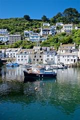 DSCF9089 (douglaswestcott) Tags: summer england english coast seaside cornwall village harbour coastal quaint polperro