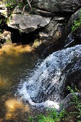 SPLASHING DOWN (KayLov) Tags: vacation travel mountains ga georgia camping creek river waterfall running flowing moving rushing