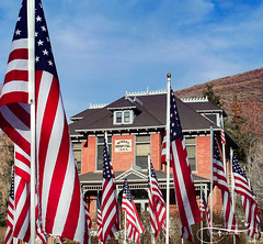 American Flags-3 (Monica Liberatore) Tags: jacksonholewyoming
