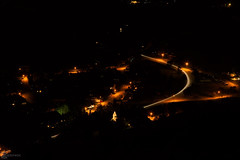 Village at Night (zeriphon_the_real) Tags: atnight night dark photo photography dslrphoto dslrphotography nikon nikond7100 zeriphon lights citiesatnight citiesoflight mountainview