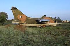 TA7  154404 (TF102A) Tags: aviation aircraft greekairforce corsair hellenicairforce araxos a7 abandoned scrap junk