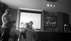 Break (4foot2) Tags: snooker pub drinking drink booze players break therisingsun upfest bristol upfest2016 longexposure slowexposure blur motionblur indoors analogue film filmphotography 35mm 35mmfilm 35mmf35 35mmf35summaron summaron leica 1932 1932leica leica111 rangefinder zonefocus guess bw blackandwhite monochrome mono polypanf standdevelop rodinal fourfoottwo 2016 4foot2flickr 4foot2photostream 4foot2