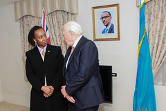 Conversation on conservation with Sir David Attenborough OM FRS (RwandaHighCommissionUK) Tags: sir david attenborough conservation wildlife wwf fauna flora international ffi rwandahighcommissionuk rwandainuk