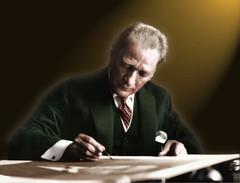 Mustafa Kemal ATATRK (Genelkurmay Bakanl) Tags: gazi mustafa kemal atatrk trkiye cumuhuriyeti trk silahl kuvvetleri turkish armed forces founder
