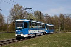 Good bye Tatra! RSAG Rostock T6A2 705+756 (geschi1987) Tags: rgenerstr tatraabschied rostock tram strasenbahn rsag