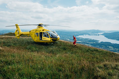 Wansfell Pike (Matt_Caville) Tags: wansfell pike mountain hill lake peak district uk england national park heritage winderemere bowness ambleside helicopter rescue ambulance trust