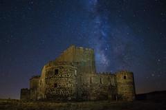 Medieval nights (B.B.H.70) Tags: castle stars milkyway valctea estrellas castillo summer verano spain espaa knights templar temple