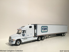 Diecast replica of KLLM Freightliner Century Class, DCP 30319 (Michael Cereghino (Avsfan118)) Tags: kllm transport services service transportation freightliner century class reefer diecast die cast promotions promotion dcp 30319 toy replica model truck 164 scale