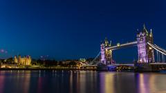 Tower Bridge Long Exposure HDR (Davestarling) Tags: canon1740mmf4l canon6d uk london tower bridge thames