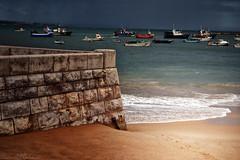 A Storm in Cascais (Biolchini) Tags: cascais portugal storm sea boat tempestade barcos beach praia marcelobiolchini