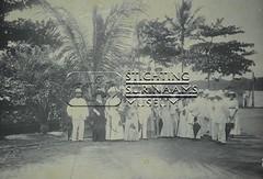 Gezelschap heer Fernandes in Cayenne