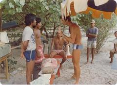 31 Palm Beach (Qld) SLSC training Indonesians in Cardio Pulmonary Resusitation, Waja SLSC, Kuta Beach, Bali, Indonesia. September 1977 (john.robert_mcpherson) Tags: bali beach surf palm qld 1977 lifesaving slsc