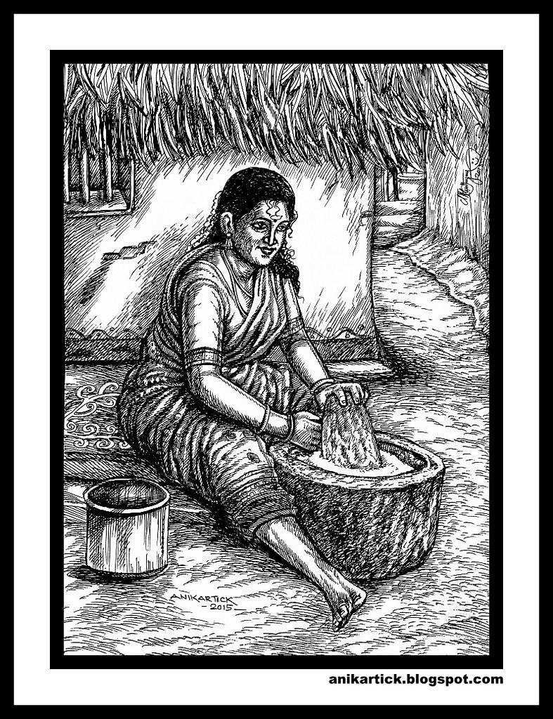 Tamil arttamil drawingstamil traditional arttamil village arttamil heritage
