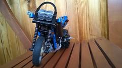 Lego technic 8430/8417 mod motorbike (senpairag) Tags: lego motorbike technic motorcycle 8417 8430 legomod legomodification