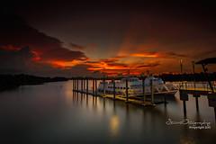 Sayang Sarawak (Stuart Rango) Tags: sunset river boat yahoo google ray stuart sarawak borneo kuching rango