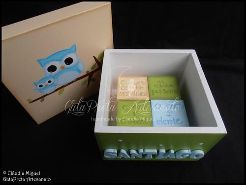 """Caixa de recordações de bebé """"Cute Owl"""""""