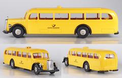 BRE-5021-O500-DBP (adrianz toyz) Tags: bus scale mercedes model post plastic mercedesbenz ho 187 dbp o500 deutschebundespost brekina