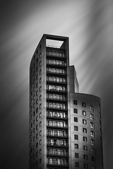Trying something out. What do you think? (SmilerSmiles) Tags: longexposure blackandwhite architecture fineart leeds bnw westyorkshire weldingglass architecturephotography