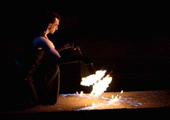 Ben, Fire Dancer Preformence
