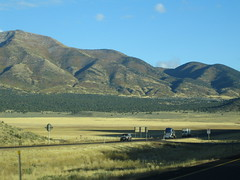 Leaving Utah (alsimages1 - Thank you for 860.000 PAGE VIEWS) Tags: road panorama observation landscape countryside highway scenery view background picture scene freeway vista backdrop geography sight setting viewpoint