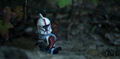 Outsider (Eflow Guy) Tags: red trooper starwars stormtrooper custom clone clonetrooper brickarms gibrick