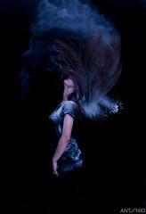 Locura (anmasa73) Tags: portrait color yoga retrato zen pelo magia harina