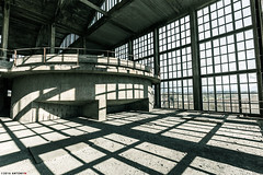 _O7A8930 (AntonyCASAFilms) Tags: urban abandoned monochrome concrete 3d factory belgium exploring plan marshall maze coal escher exploration derelict washing ue urbex