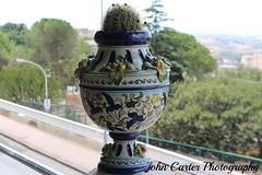 IMG_2783 (@XIII) Tags: cactus italy canon italia streetphotography ag vase sicily vaso sicilia agrigento pianta vasodecorato vasedecorated