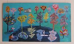 Anna Seppl @ Bokvillan (neppanen) Tags: anna art suomi finland painting helsinki arabia maalaus taide seppl kuvataide discounterintelligence sampen sekatekniikka annaseppl bokvillan galleriabokvillan