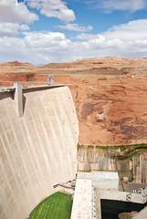 Glen Canyon Dam @ Lake Powell (smilingchris1405) Tags: arizona page untited states america usa carl hayden visitor center lake powell glen canyon national recreation area