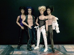 Boy Band Goals (screamboy19) Tags: stingers phillips craig band jem the holograms homme sean riot stinger eric raymond misfits 80s boy integrity toys doll
