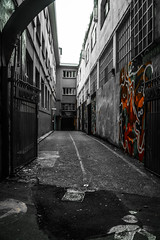 ... Esa Donostia oculta a los turistas, que quiere parecerse a Bilbao ... (Lanpernas 2.0) Tags: urbanite urbanfragments street streetart hiddendonostia donostiaoculta donostia egia mundaiz mercdotecnia dabadabada